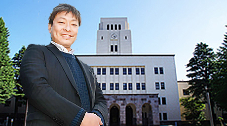Assoc. Prof. Shoichi Kishiki was featured on the cover of the March 2021 issue of JST News