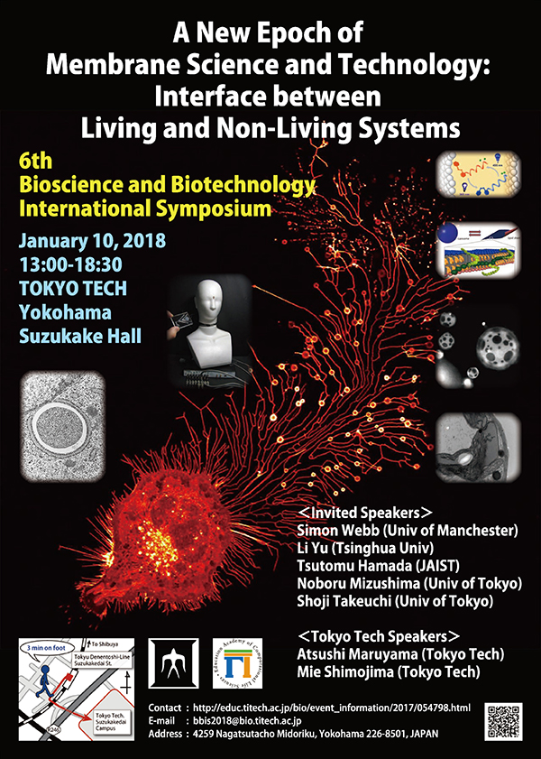 6th Bioscience and Biotechnology International Symposium Poster
