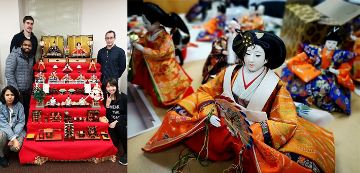 Celebrating Hinamatsuri, the Japanese doll festival