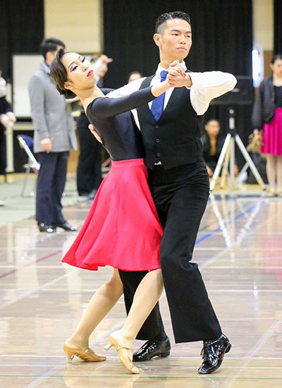 Kohei Ichinose, 1st year, School of Environment and Society Rie Masukawa, 3rd year, Mathematical and Computing Sciences 1st in tango for 1st-year students