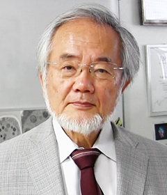 Honorary Professor Yoshinori Ohsumi