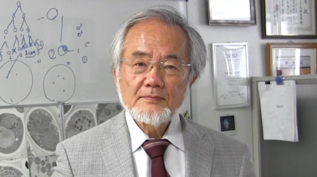 Honorary Professor Yoshinori Ohsumi receives 2016 Paul Janssen Award