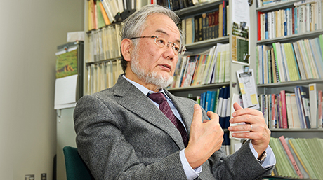 Honorary Professor Yoshinori Ohsumi wins Nobel Prize in Physiology or Medicine for 2016