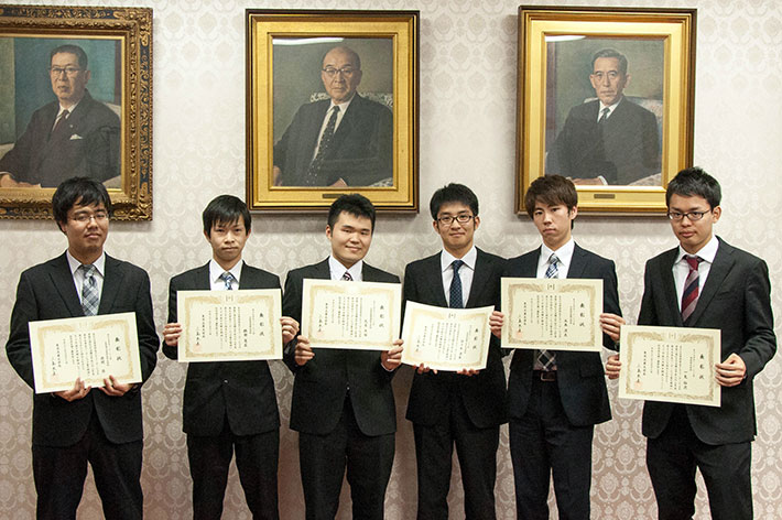 2016 Tokyo Tech Award for Student Leadership recipients