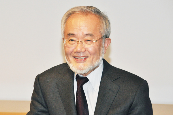Honorary Professor Ohsumi