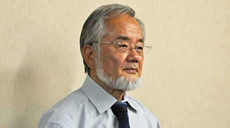 Honorary Professor Yoshinori Ohsumi wins 2017 Breakthrough Prize in Life Sciences