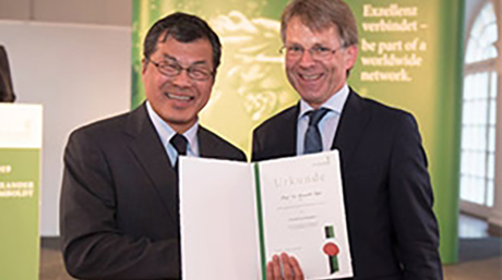 Masaaki Fujii honored with Humboldt Research Award