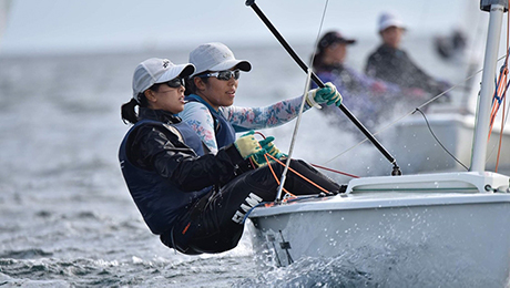 Tokyo Tech pair sixth at fall Kanto women's sailing contest