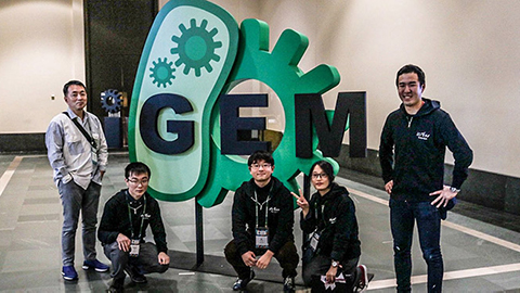 Team iGEM TokyoTech wins silver at international competition