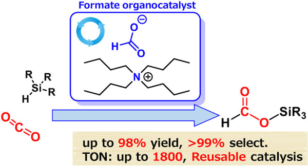 Formate-catalyzed reduction of CO2 to formate products