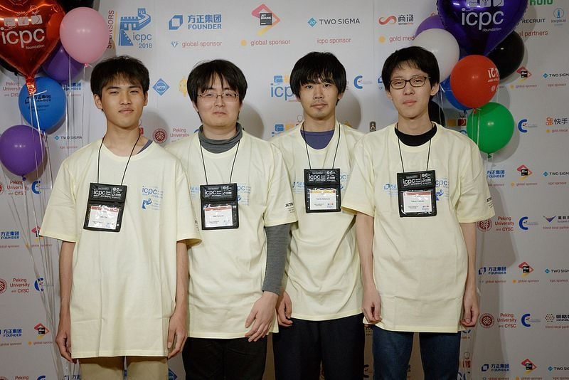 ACM ICPC World Finals 2018で好成績!