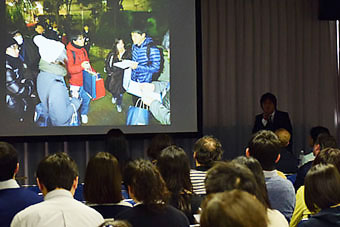 Over 90 participants attending Tokyo Street Count briefing