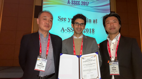 Abdel MARTINEZ ALONSO won the A-SSCC 2017 Distinguished Design Award