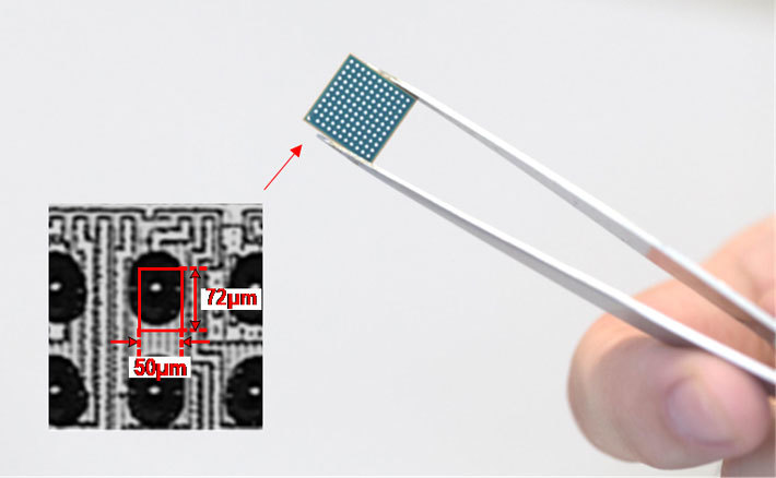 Figure 1. Photograph of a chip containing the proposed PLL