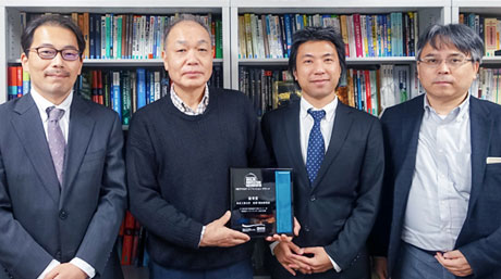 Matsuzawa and Okada Laboratory won NE Analog Innovation Award