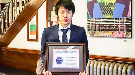 Shotaro Maki received ISSCC Student-Research Preview Award (Honorable Mention)