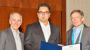 Korkut Kaan TOKGOZ won the  IEEE MTT-S Graduate Fellowship Award
