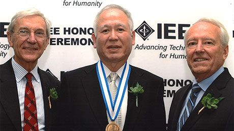 Professor Akagi attends IEEE Honors Ceremony