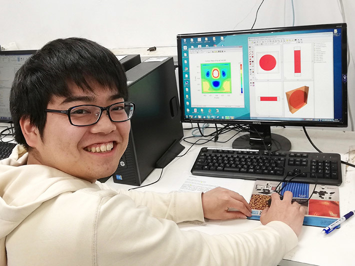 Yusuke Kobayashi, first author, is a graduate student in the Department of Electrical and Electrical Engineering, School of Engineering at Tokyo Tech.