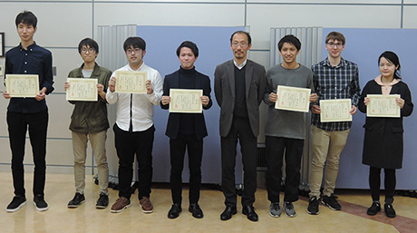 Concept presentation was hold and 8 master students were awarded