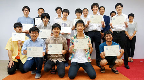 Tokyo Tech's newest Graduate Student Assistants certified