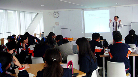 Thai and Japanese high school students talk mathematics