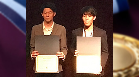 Youki Wakabayashi and Shoichiro Koizumi (Suzumori-Endo lab.)  received the SICE International Young Authors Award in SII2020.