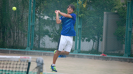 Tokyo Tech singles champion, doubles runner-up in Kanto regional tennis contest