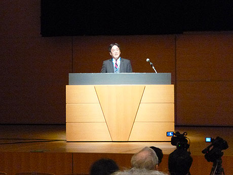 Plenary Lecturerを務められた藤田政之教授