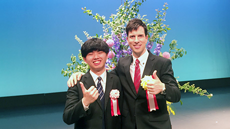 Tokyo Tech student in finals of 60th International Speech Contest in Japanese