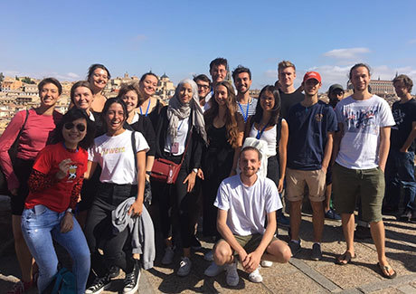 Excursion to Toledo with Spanish course classmates