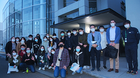 GSEP students visit Miraikan and Tokyu Construction Institute of Technology